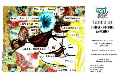 Moeder – dochter workshop